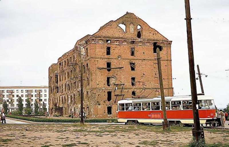 Когда-то мимо мельницы Гергардта ходил трамвай