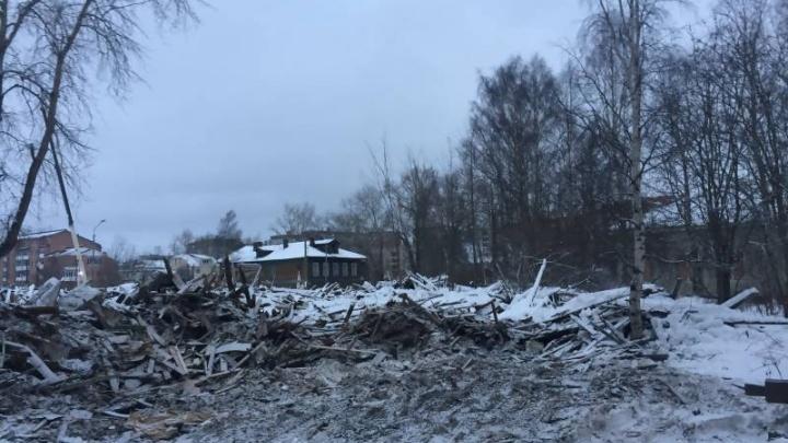 В Соломбале на месте снесенного «Якоря» может появиться спортивный центр