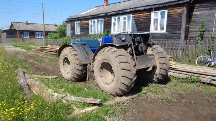 В Устьянском районе под колеса самодельного вездехода попал пятилетний мальчик