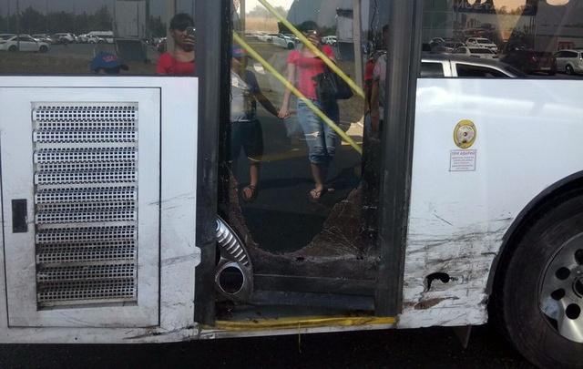 «Газель» протаранила автобус в Ворошиловском районе Волгограда