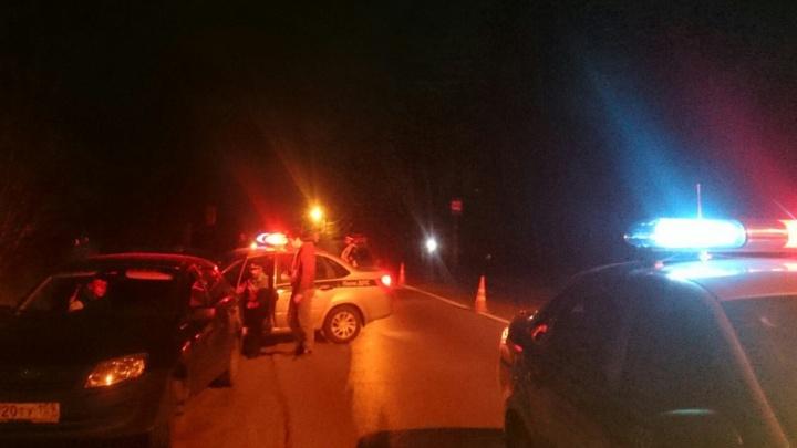 В Перми полицейские устроили погоню со стрельбой за пьяным водителем
