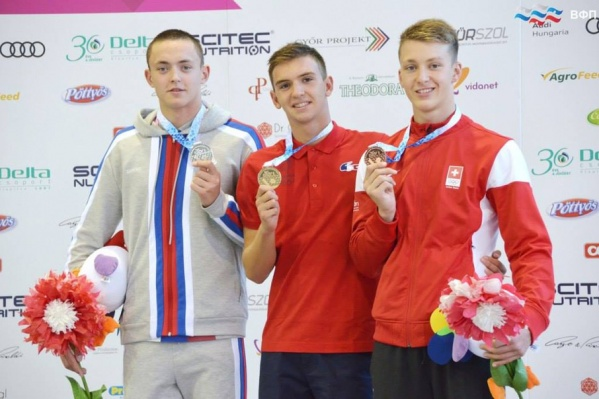 Максим Александров получил серебряную медаль и улучшил свой личный рекорд