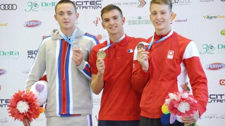 Волгоградский пловец собрал в Венгрии урожай медалей