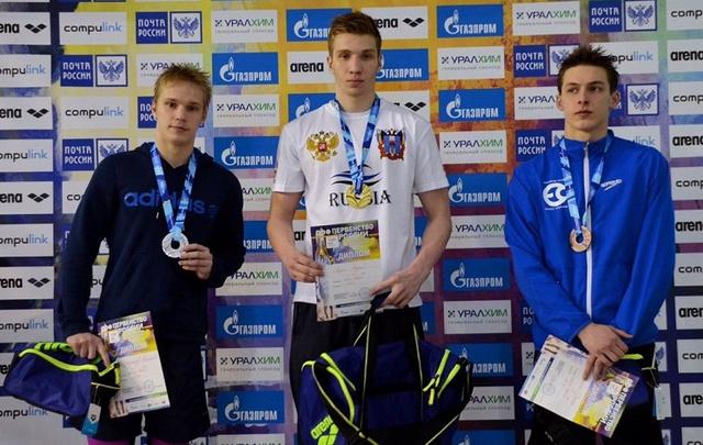 Ростовчанин Андрей Лизин стал лучшим на первенстве России по плаванию