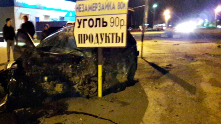 Смертельное ДТП: в Самарской области Chevrolet Niva и Hyundai столкнулись лоб в лоб