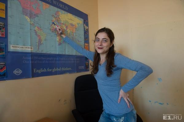 МануэлаПрьето преподаёт в УрФУ испанский язык.