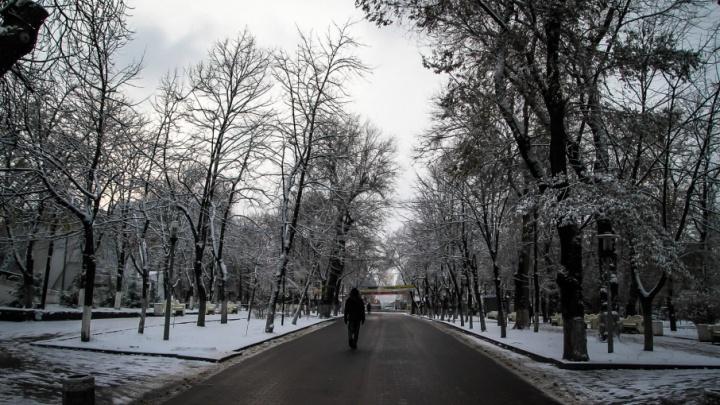 В первые весенние выходные ростовчан ждут мокрый снег с дождем
