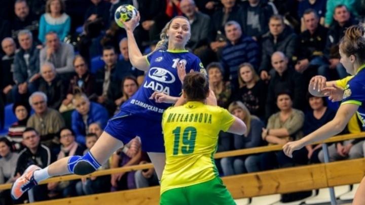 Тольяттинские гандболистки вырвали победу у «Кубани» в матче чемпионата России