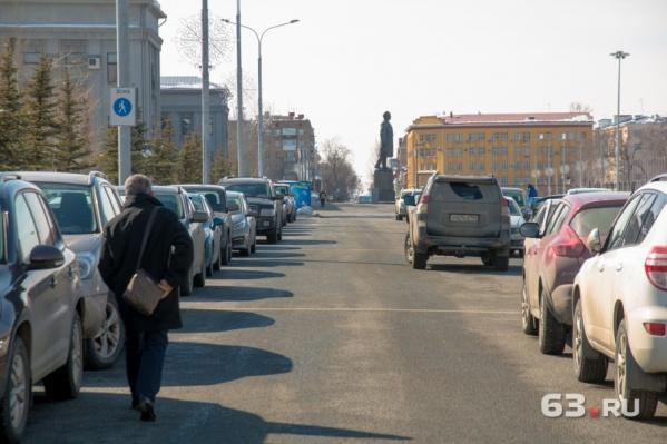 Движение транспорта в центре ограничат на месяц