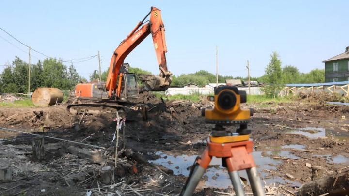 В Турдеевске началось строительство нового детского сада
