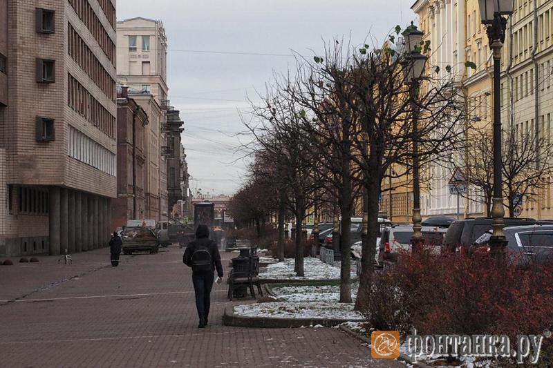 Бульвар на Захарьевской улице