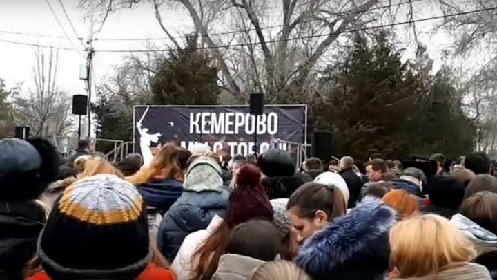 Волгоград присоединится к всероссийской траурной акции по погибшим в Кемерово