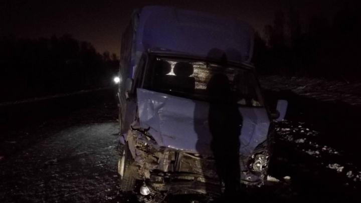 Водитель Citroen погибла на тюменской трассе, выехав на встречку