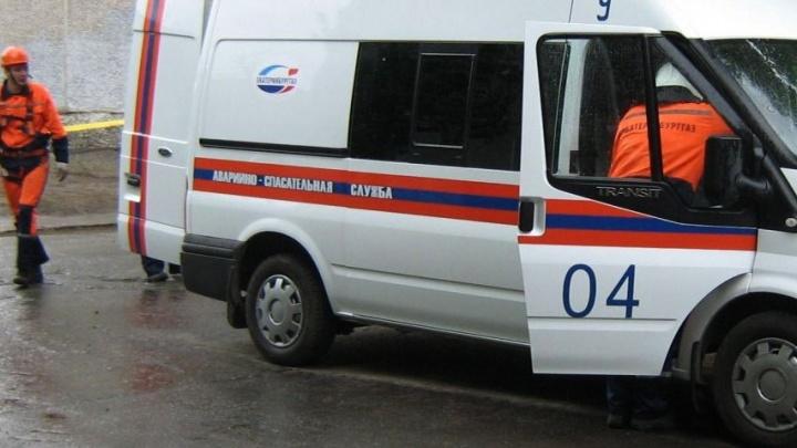 В Екатеринбурге рабочие повредили газопровод и оставили десяток домов без топлива