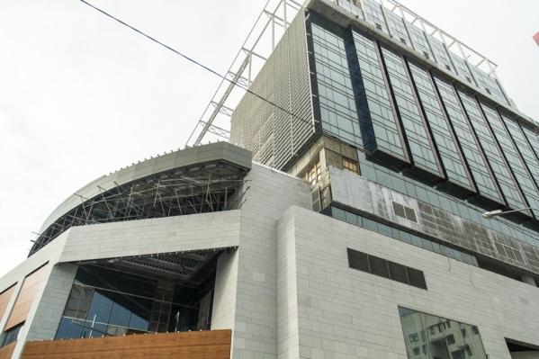 В строительство отеля Варшавский вложил 610 млн рублей