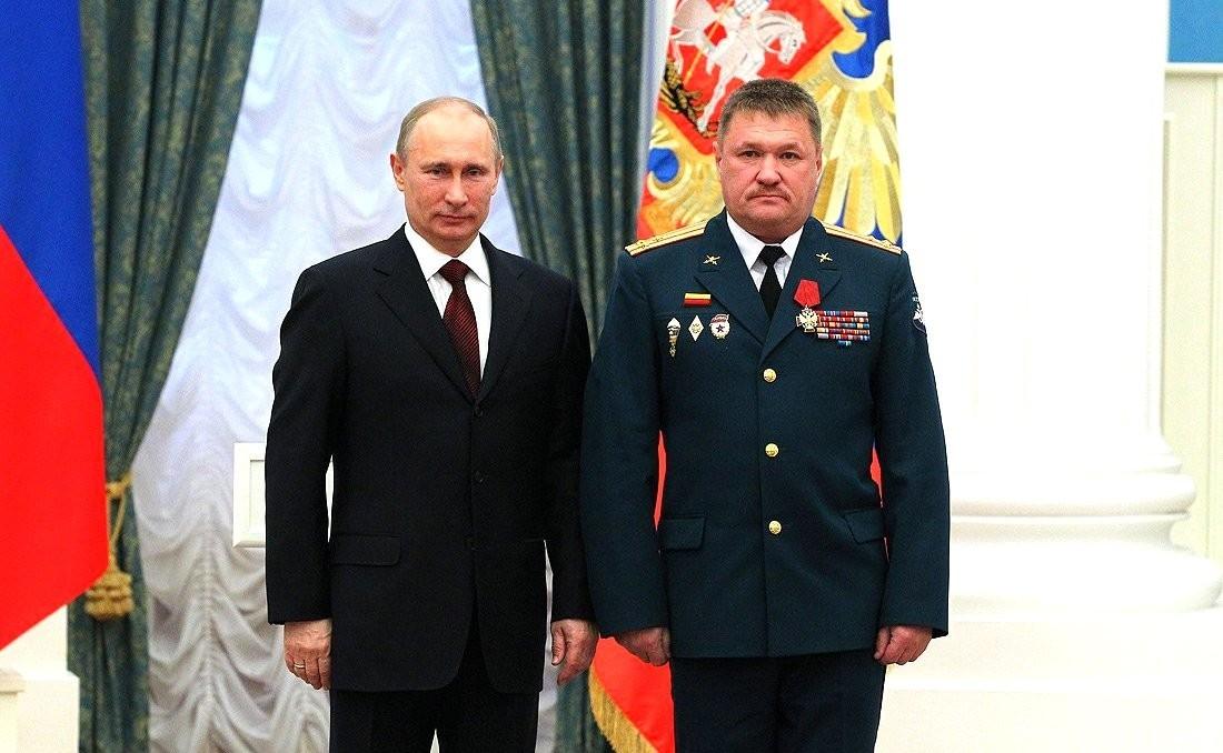 Архив// Валерий Асапов был награжден Орденом «За заслуги перед Отечеством» IV степени