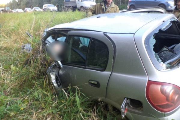 Водитель «Ниссана» погиб на месте