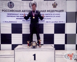 Студент Южного университета (ИУБиП) стал чемпионом ЮФО по картингу