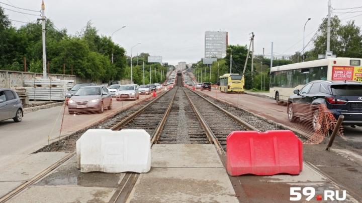 В Перми на выходные закроют проезд через Северную дамбу