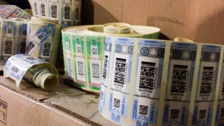 110 литров поддельного алкоголя отобрали приставы у тюменских продавцов