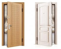 Секреты выбора отделки стальной двери