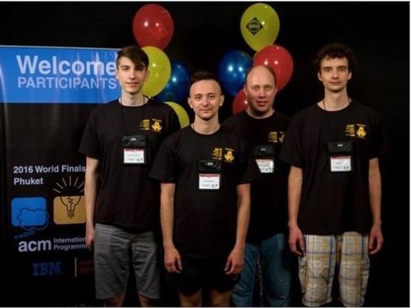 Команда программистов ИТМО