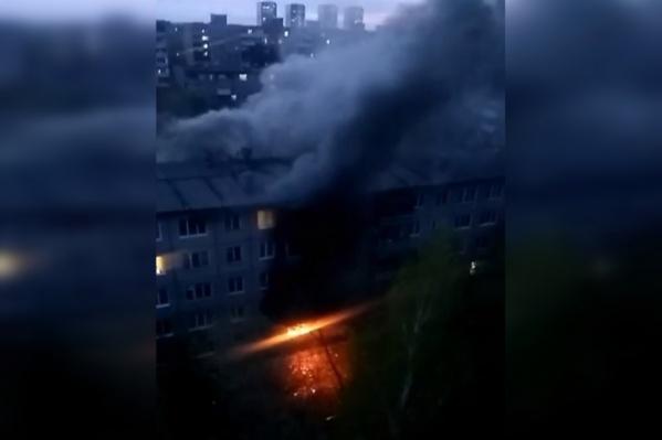 В пятиэтажке на улице Свиязева взорвался газ