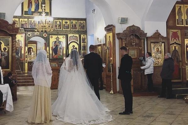 Анастасия Костенко и Дмитрий Тарасов обвенчались