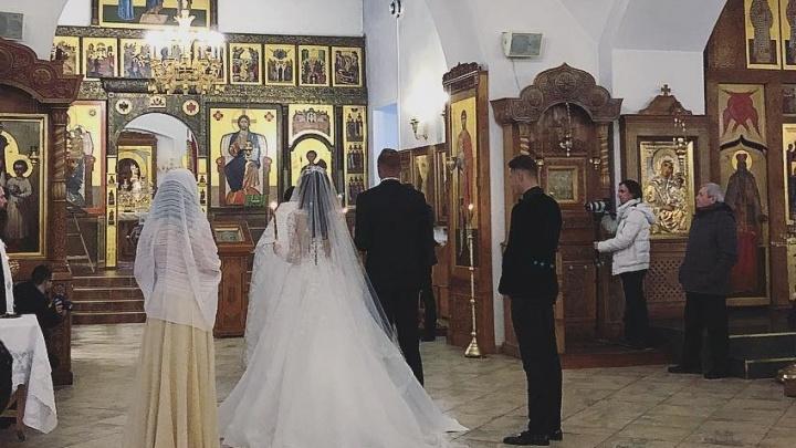 Ах, эта свадьба: ростовская фотомодель Анастасия Костенко обвенчалась с экс-супругом Ольги Бузовой
