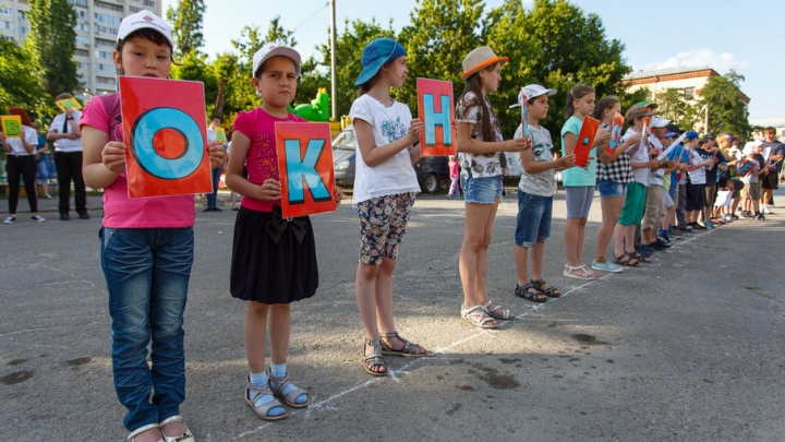 В Волгограде дети призвали взрослых закрывать окна