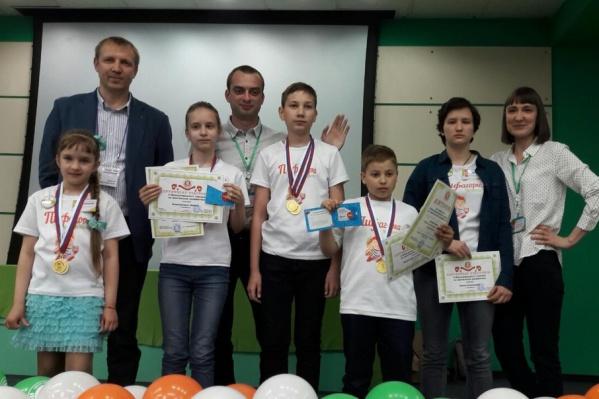 Челябинская команда собрала хороший урожай наград на турнире по ментальной арифметике