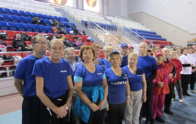 Ветераны «ПМУ» стали лидерами спортивного фестиваля Индустриального района
