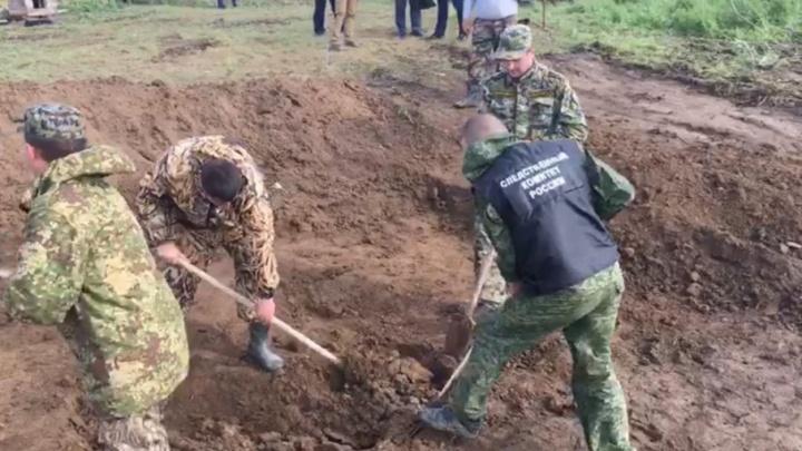 У волгоградских похитителей мальчика из Морозовска нашли закопанным тело приемного ребенка