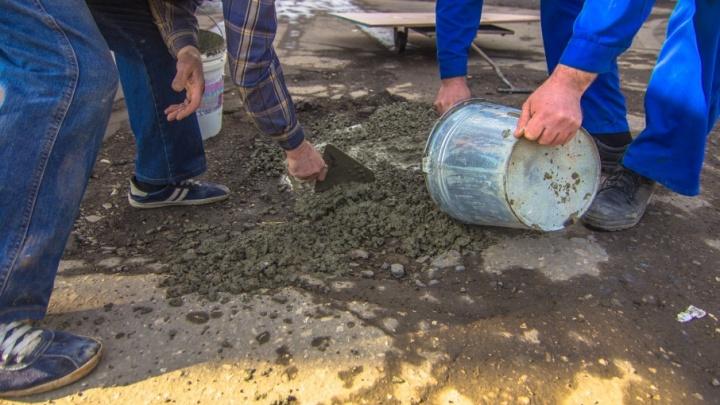 В Самаре обнаружены опасные выбоины на проспекте Кирова и Нагорной