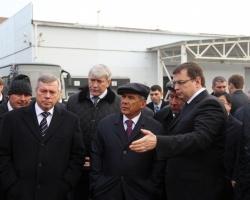 Президент Татарстана посетил компанию Ростсельмаш