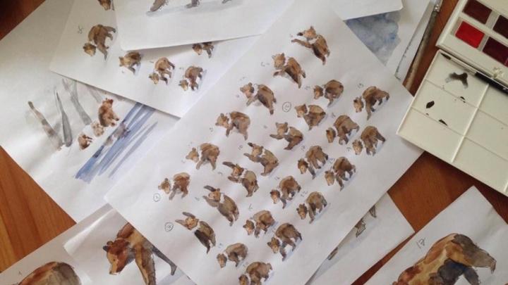 Пермячка продюсирует мультфильм о медведях Камчатки