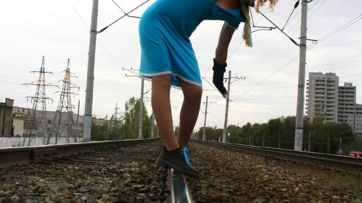 Волгоградским школьникам рассказали о вреде селфи на железной дороге