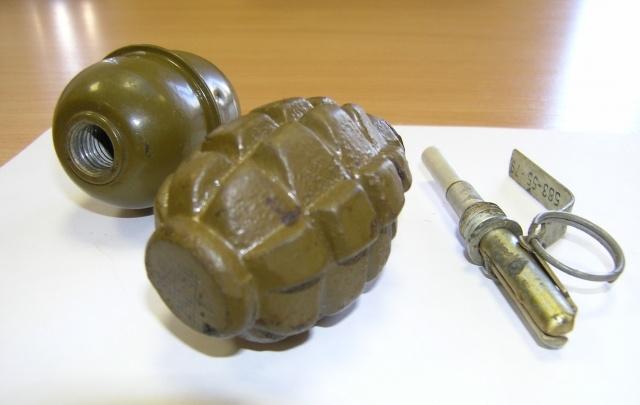 Под Волгоградом задержали вымогателя с боевой гранатой