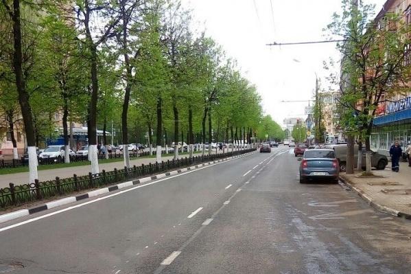 Инновационная разметка в Ярославле