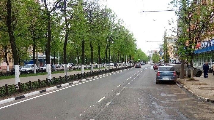 В Ярославле появился новый вид дорожной разметки
