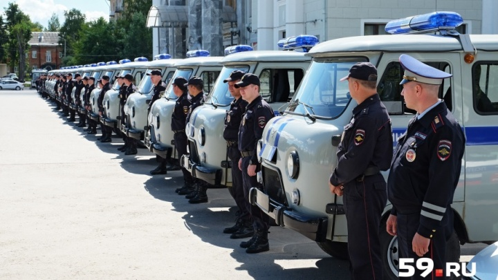 Пермские полицейские получили 31 автомобиль Chevrolet Niva и УАЗ-3909