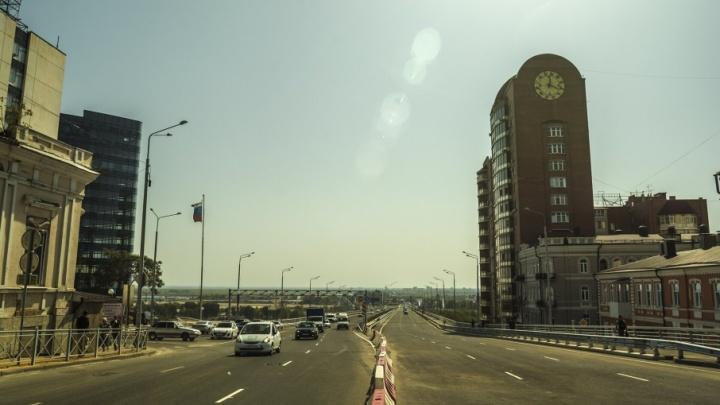 В Ростове официально открыли Ворошиловский мост