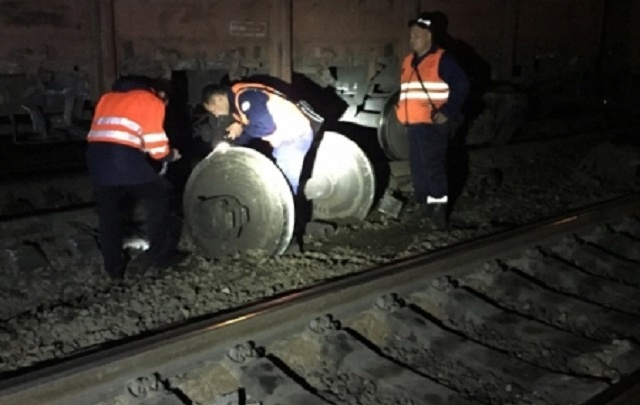 Ночью на Ярославле-Главном с рельсов сошел вагон поезда