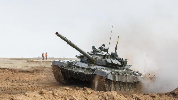 Под Волгоградом состоится танковое сражение с условным противником