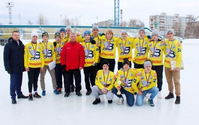 Молодежный состав «Водника» стал бронзовым призером первенства России
