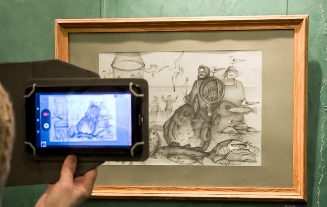 В Архангельске открылась выставка картин «Морем живем»