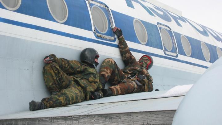В волгоградском аэропорту прошли антитеррористические учения