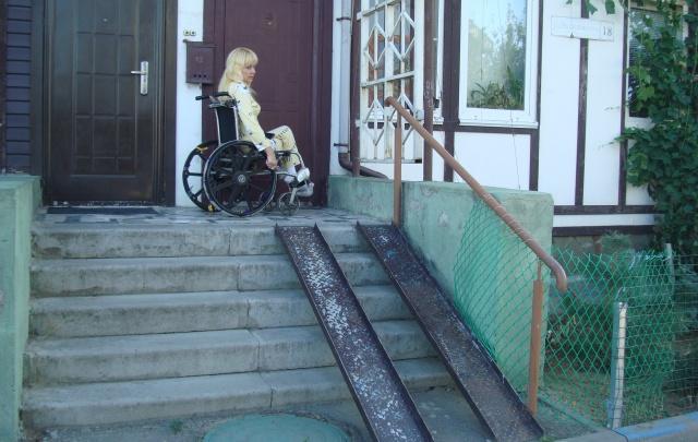 Волгоград признали непригодным для инвалидов городом