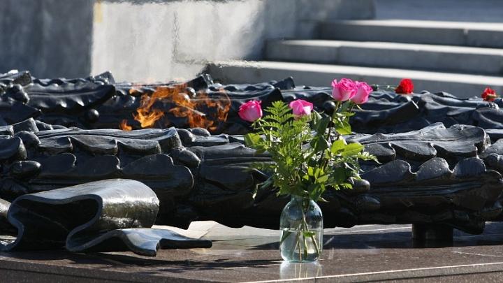 На Аллее Славы в Челябинске погаснет Вечный огонь