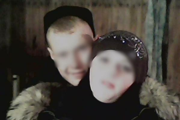 Оксана с другом